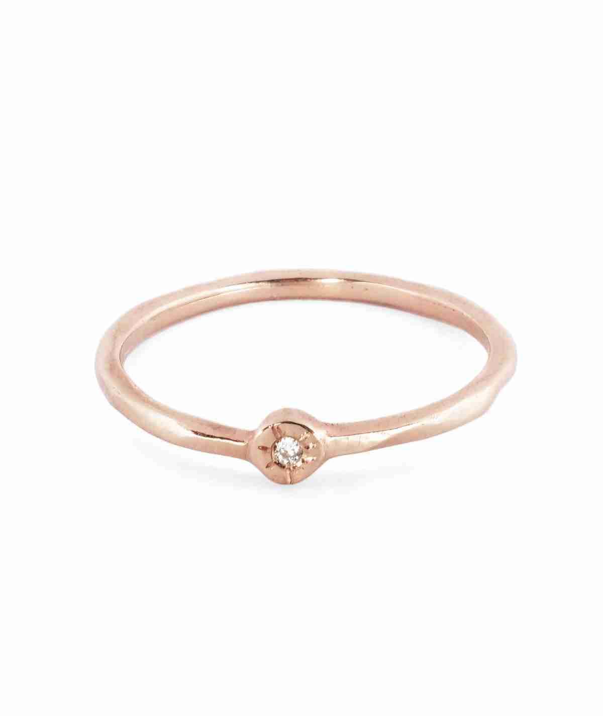 gemstone stacking ring