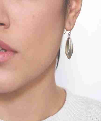 Statement silver earrings