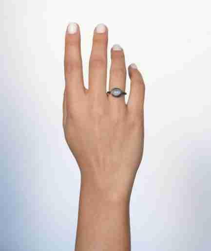 Unique moonstone ring