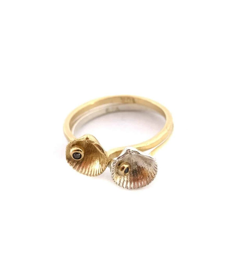 Collections_VeranoEterno_Product_View gemstone shell ring