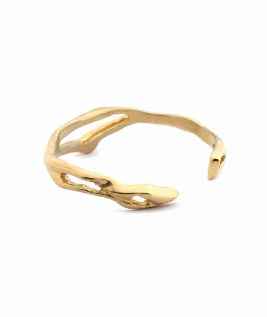 Organic cuff bracelet