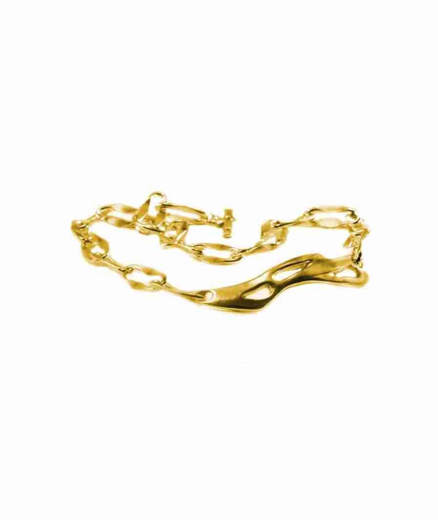 brass organic choker