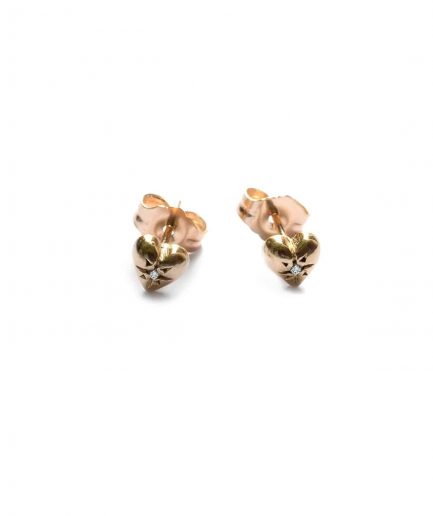 heart studts, heart stud earrings